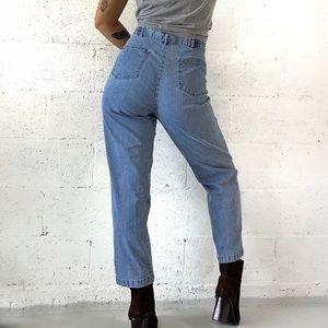"Vtg Ruby Rd. High Waist Blue Jeans SIZE 14 (34"")"